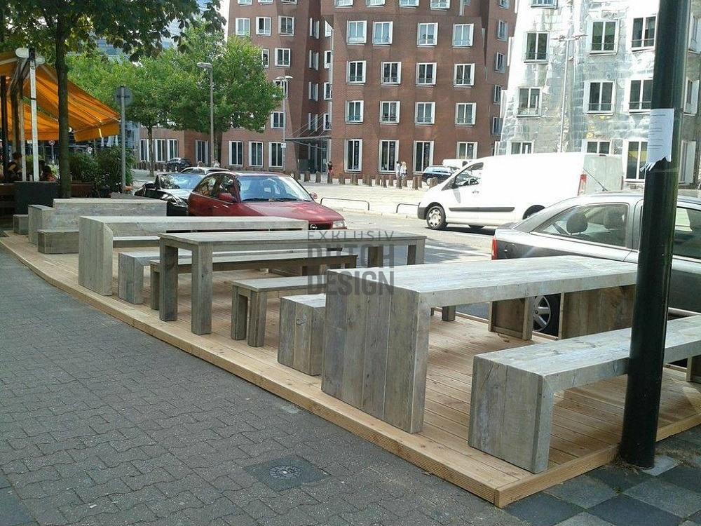 Gastro Terrassen Bestuhlung Bauholz Bauholz Ladeneinrichtung