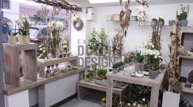 Bauholz ladeneinrichtung for Vintage einrichtung shop