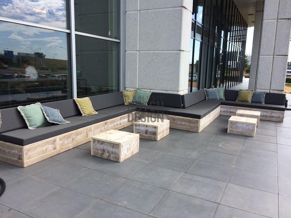 Terrassenbestuhlung Niederlande Bauholz Ladeneinrichtung