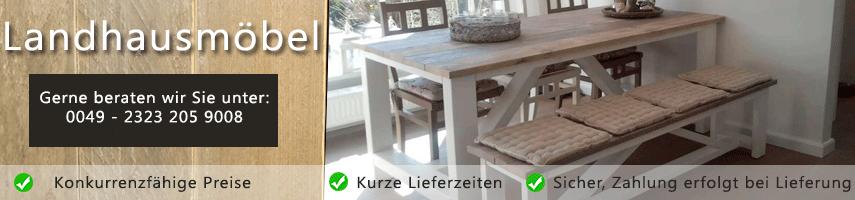 Landhausmöbel - Ambiente und Charme im Landhausstil
