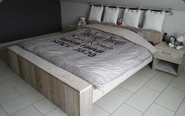 Bauholz Schlafzimmermöbel