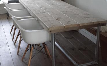 Gerüstholzmöbeln serien