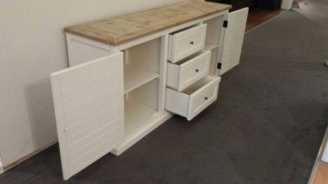 Bauholz Möbel - Kommode Traunsee im Landhaus-Stil