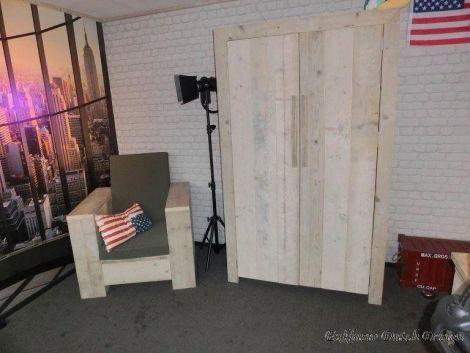Bauholz Möbel - Schrank Oberau unbehandelt