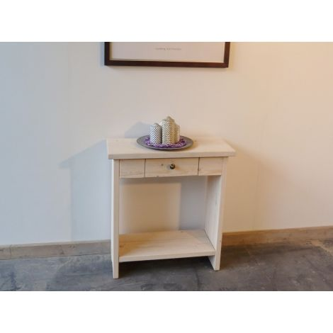 Bauholz Sideboard Cochem in White Wash