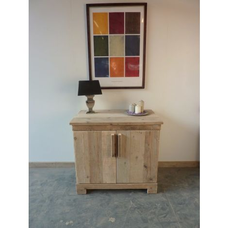Möbel aus Bauholz - Kommode Köthen unbehandelt