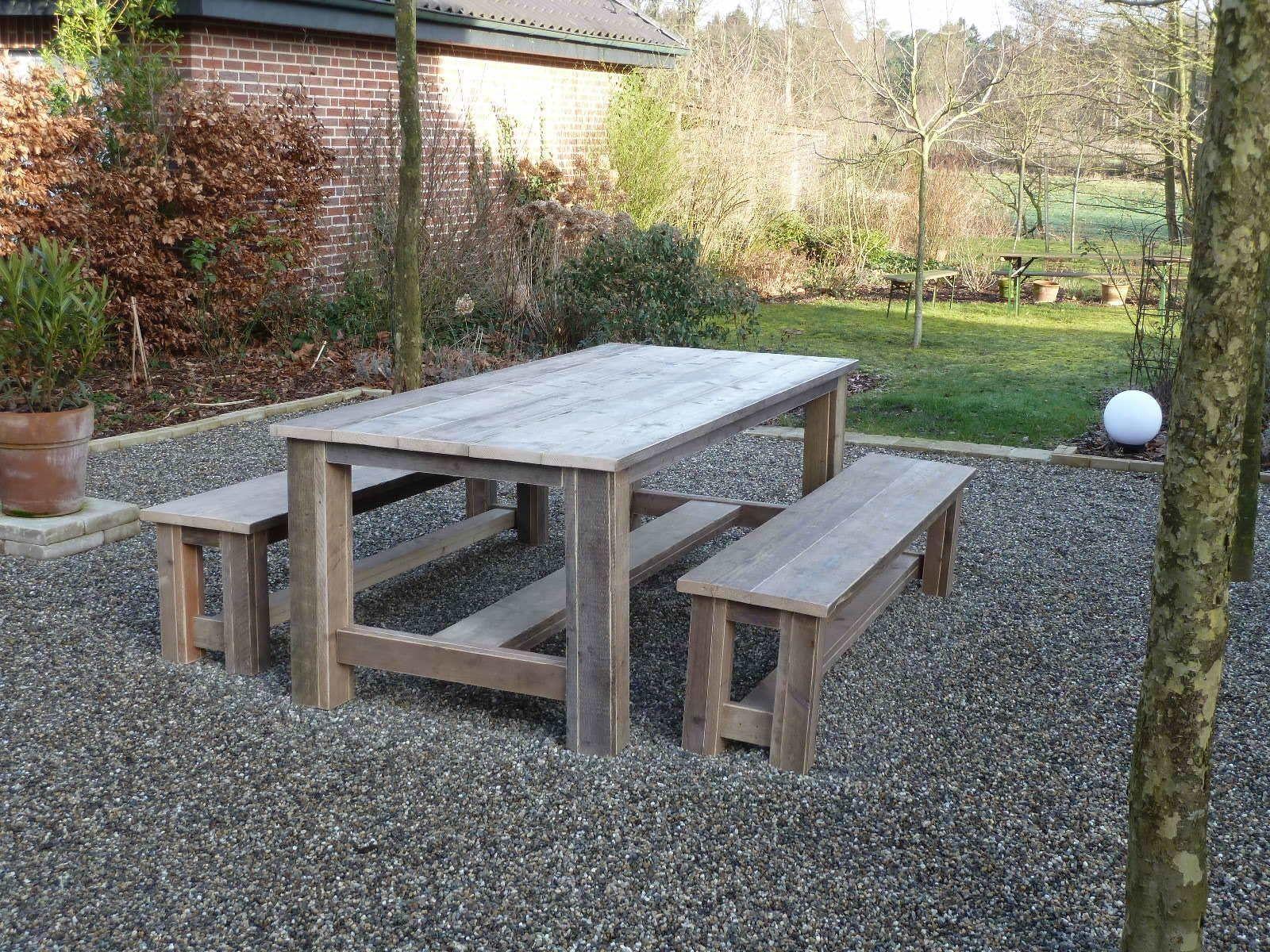 Gartentisch Holz Massiv Gera
